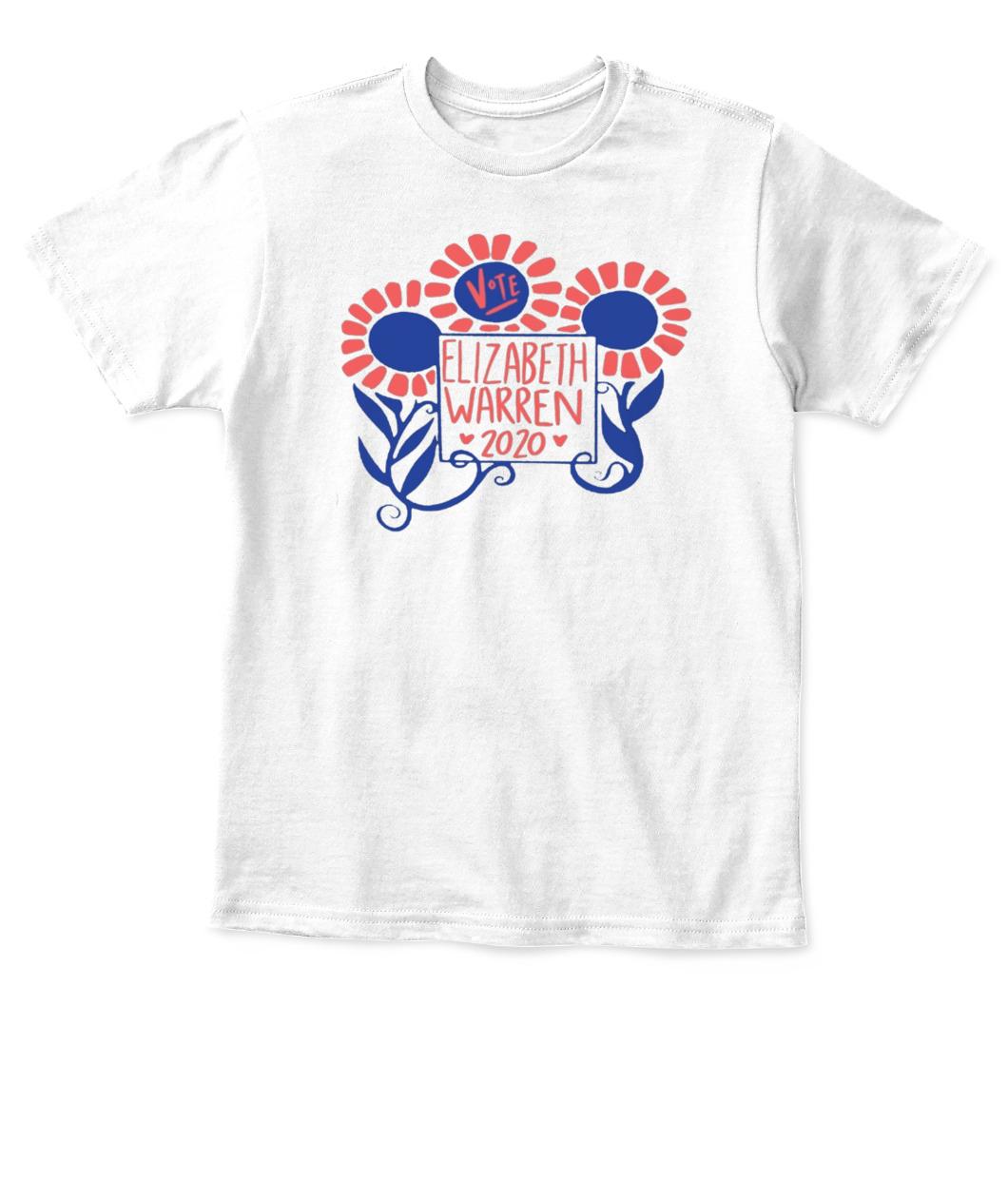Mens Short Tank Youth Long Sleeve Womens Elizabeth Warren 2020 T-Shirt