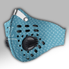 Louis Vuitton Blue Green Carbon PM 2,5 Face Mask